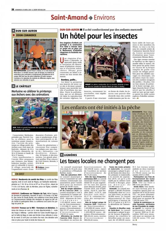 Hotel a insectes